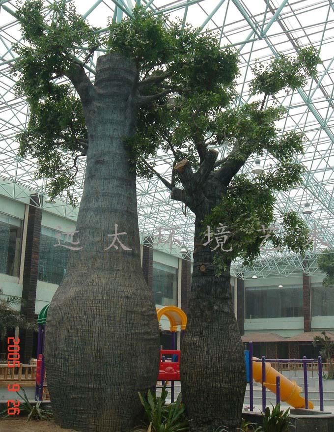 水泥仿真树椰子树