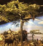 博物馆仿真树