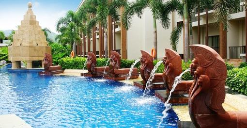 欧式雕塑喷泉大门